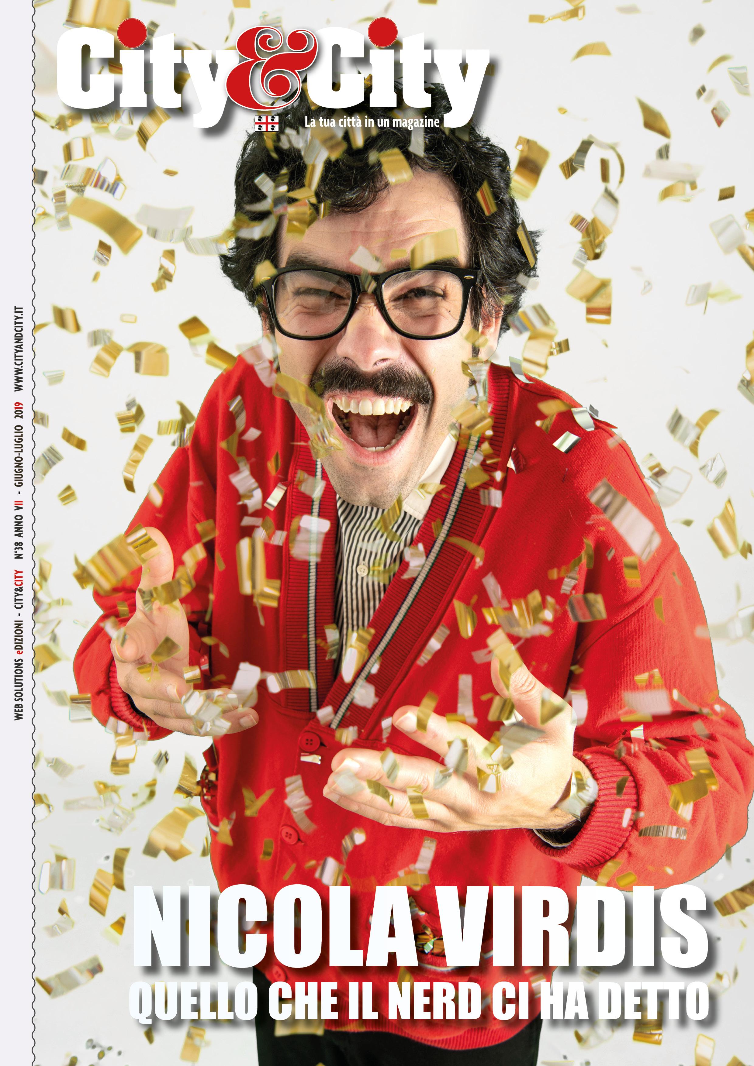ARRIVA IL NUOVO CITY&CITY! IN COPERTINA NICOLA VIRDIS
