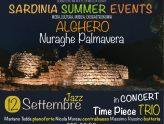 City&City Summer Events: Musica Jazz  al Palmavera di Alghero il 12 settembre